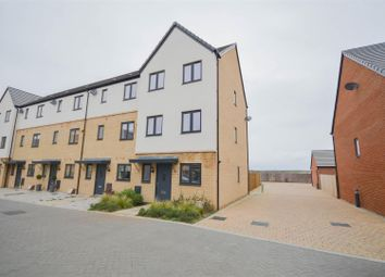 Thumbnail 4 bed end terrace house for sale in Coriander Drive, Hampton Vale, Peterborough