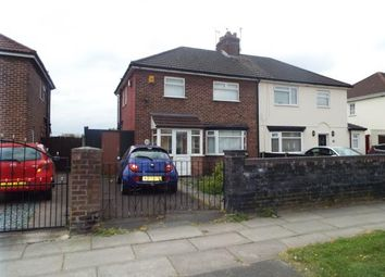 Thumbnail 3 bed semi-detached house for sale in Dinas Lane, Liverpool, Merseyside