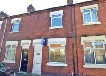 Thumbnail 3 bedroom terraced house to rent in Cornwallis Street, Stoke, Stoke-On-Trent