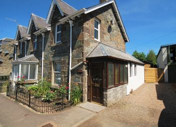 Thumbnail 4 bed semi-detached house for sale in Burnside, Aberfeldy