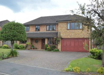 Thumbnail 5 bed detached house for sale in The Ridgeway, Bracknell