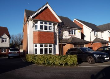 Thumbnail 4 bed detached house for sale in 18 White Knight Gardens, Bishopston, Swansea