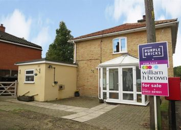 Thumbnail 3 bedroom cottage for sale in Broadmoor Road, Carbrooke, Thetford