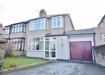 Thumbnail 3 bed semi-detached house for sale in Tullimore Road, Mossley Hill, Liverpool