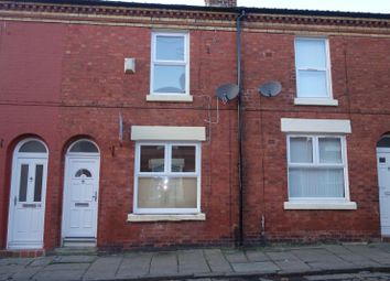 Thumbnail 2 bed terraced house to rent in Wells Street, Liverpool