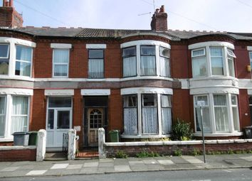 Thumbnail 3 bed terraced house for sale in Walsingham Road, Wallasey, Wirral