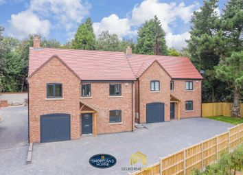 Thumbnail 5 bed detached house for sale in Sandpits Lane, Off Tamworth Road, Keresley End