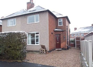 Thumbnail 2 bed semi-detached house to rent in Margaret Avenue, Sandiacre, Nottingham