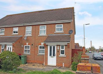 Thumbnail 2 bed semi-detached house for sale in Swarbourne Close, Didcot