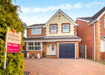 Thumbnail 4 bedroom detached house for sale in Ascott Close, Hull