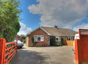 Thumbnail 3 bed semi-detached bungalow for sale in Rightup Lane, Wymondham