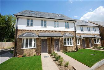 Thumbnail 3 bed end terrace house to rent in Station Yard, Buntingford