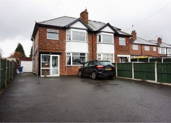 Thumbnail 3 bed semi-detached house for sale in Uttoxeter Road, Mickleover