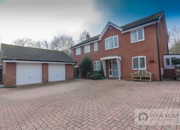 Thumbnail 5 bed detached house for sale in Wash Lane, Kessingland, Lowestoft