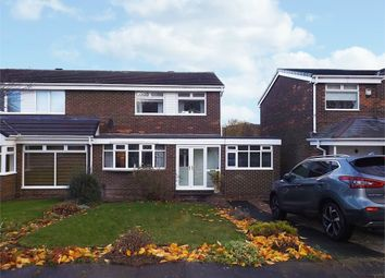 Thumbnail 3 bedroom semi-detached house for sale in Midgley Drive, Sunderland, Tyne And Wear