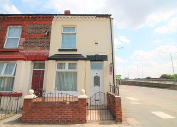 Thumbnail 2 bed end terrace house for sale in Peveril Street, Liverpool