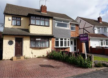 Thumbnail 3 bedroom semi-detached house for sale in Balmoral Drive, Willenhall