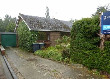Thumbnail 3 bedroom semi-detached bungalow for sale in Cowbrook Avenue, Glossop, High Peak