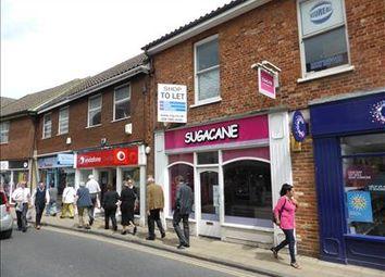 Thumbnail Retail premises to let in 7 High Street, Dereham