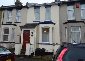 Thumbnail 3 bedroom terraced house to rent in May Road, Gillingham, Kent.