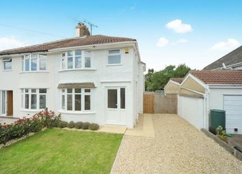 Thumbnail 3 bed semi-detached house for sale in Orchard Grove, Upper Stratton, Swindon, Wiltshire