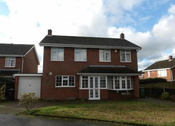Thumbnail 4 bed detached house for sale in St. Michaels Drive, Ravenstone, Coalville