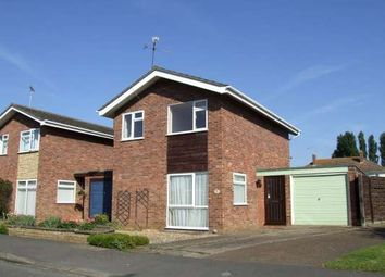 Thumbnail 3 bed detached house to rent in Manor Way, Deeping St James, Peterborough