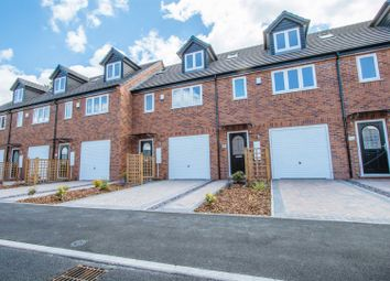 Thumbnail 3 bed town house for sale in Trentmill Road, Hanley, Stoke-On-Trent