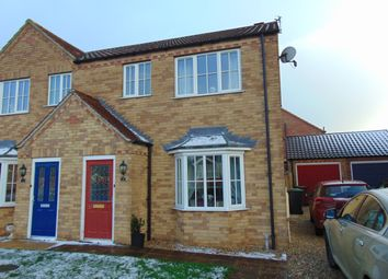 Thumbnail 3 bed semi-detached house to rent in Short Furrow, Navenby