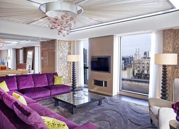 Thumbnail 4 bedroom flat to rent in Three Quays Apartments, City, London