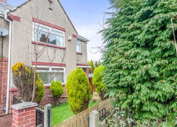 Thumbnail 3 bedroom semi-detached house for sale in Lynmouth Place, High Heaton, Newcastle Upon Tyne