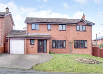Thumbnail 4 bed detached house for sale in Oakham Close, Oakenshaw South, Redditch