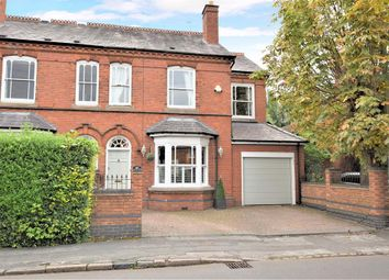 Thumbnail 4 bed semi-detached house for sale in Lodge Road, Knowle, Solihull