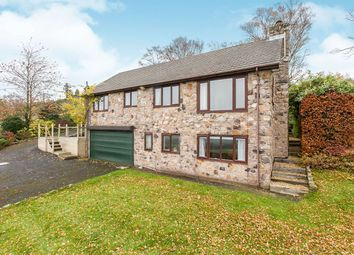 Thumbnail 4 bed detached house for sale in Halls Road, Mow Cop, Stoke-On-Trent