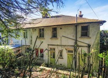 Thumbnail 3 bed semi-detached house for sale in Cliff End, Purley, Surrey, England