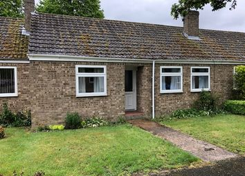 Thumbnail 2 bed terraced bungalow to rent in Jubilee Close, Isleham