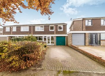 Thumbnail 4 bed semi-detached house for sale in The Wick, Bengeo, Hertford