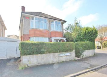 Thumbnail 3 bed detached house for sale in Claremont Road, Moordown, Bournemouth