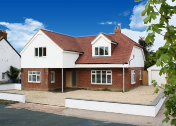 Thumbnail 5 bed detached house for sale in Crondall Road, Crookham Village, Fleet