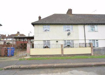 Thumbnail 3 bed end terrace house for sale in Wren Walk, Tilbury, Essex