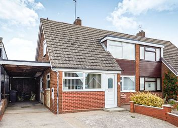 Thumbnail 2 bed bungalow for sale in The Rise, Newhall, Swadlincote