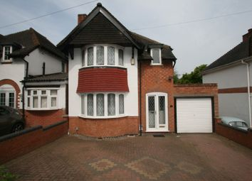 Thumbnail 3 bed detached house for sale in Inverclyde Road, Handsworth Wood, Birmingham