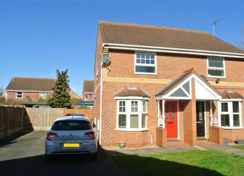 Thumbnail 2 bed semi-detached house for sale in Glencoe Way, Orton Southgate, Peterborough, Cambridgeshire