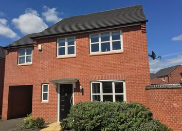 Thumbnail 4 bed detached house for sale in Otter Close, Ibstock