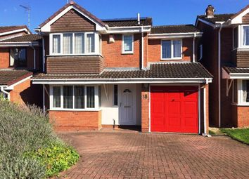 Thumbnail 4 bed detached house to rent in Webb Drive, Rugby