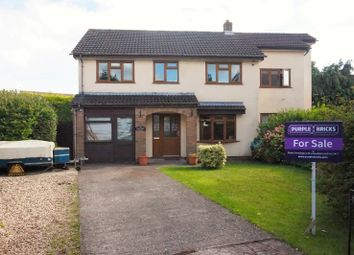 Thumbnail 4 bed detached house for sale in Fairfield Close, Caldicot