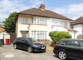 Thumbnail 3 bed semi-detached house to rent in Cranbourne Close, Cippenham, Slough