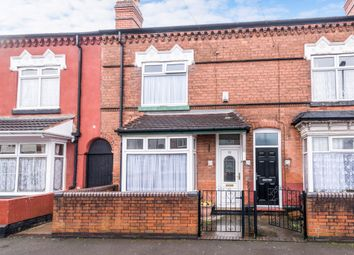 Thumbnail 2 bedroom terraced house for sale in Davey Road, Handsworth, Birmingham