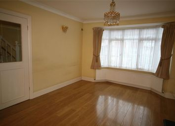 Thumbnail 3 bed terraced house to rent in Grove Way, Wembley