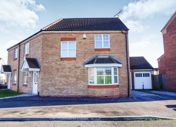 Thumbnail 3 bed semi-detached house for sale in Dunsil Road, Mansfield Woodhouse